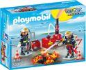 Playmobil Brandweermannen met blusmateriaal - 5397