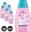 Schwarzkopf Fresh 'n Light - 5 x 400 ml Voordeelverpakking - Shampoo