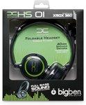Bigben Gaming Headset Zwart Xbox 360