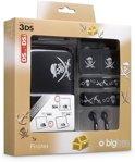 Bigben Piraten Accessoirepakket Zwart 3DS + Dsi + DsiXL