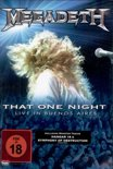 Megadeth - That One Night-Live In Buenos Aires