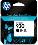HP 920 - Inktcartridge / Zwart (CD971AE)