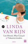 Kaft van e-book Last minute | blue curacao | vakantievrienden