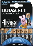 Duracell AAA Ultra Power - 8 -  Alkaline Batterijen