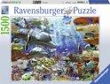 Ravensburger puzzel Leven onder water - legpuzzel - 1500 stukjes