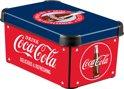 Curver Decobox Stockholm Opbergbox - S - Kunststof - Coca Cola