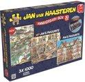 Jan van Haasteren Jubileum Box - Puzzel - 3 x 1000 Stukjes