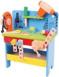Houten speelgoed werkbank Powertool