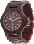 WeWOOD Date Brown - Horloge - Bruin - 41 mm