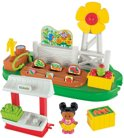 Fisher-Price Little People Groentestal - Speelfigurenset