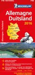 Allemagne Duitsland 11718 carte 'national' 2016 michelin kaart