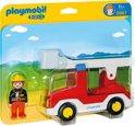 Playmobil 123 Brandweerwagen met ladder - 6967