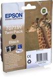 Epson T0711H - Inktcartridge / Zwart