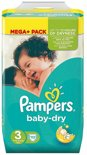 Pampers Baby Dry maat 3  112  stuks | Pampers