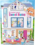 Kleurboek Create Your Sweet Home Top Model