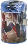 Spiderman Amazing - Spaarpot 11,5 cm met slotje - Multi colour