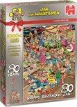 Jan van Haasteren Fijne Verjaardag Jan! - 80 jaar - Puzzel 1000 Stukjes - Limited Edition