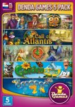 Denda Games Bundel: Around the World in 80 Days + Call of Atlantis + 4 Elements + Gardenscapes + Fishdom 2 - Windows