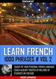 Learn French - 1000 Phrases - Vol 2