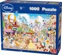 Disney Puzzel 1000 Stukjes - Disneyland - Legpuzzel