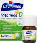 Davitamon D kind smelttabletten - 50 stuks - Vitamine