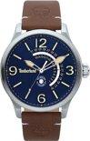 Timberland Hollace 15419JS/03 - Horloge - Leer - Bruin - 45mm