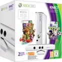 Microsoft Xbox 360 Slim 4GB + Kinect Sports 1 + Kinect Adventures - Limited Edition Casper