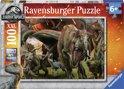 Ravensburger puzzel Jurassic World Uitbarsting - Legpuzzel - 100 stukjes