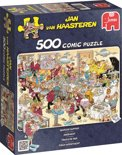 Jan van Haasteren Zeebanket - Puzzel 500 stukjes
