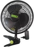 Garden High Pro Clip Fan 20cm - Clipventilator - zwart