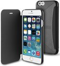 Muvit Folio Card Case  voor Apple iPhone 6 / 6S - Zwart