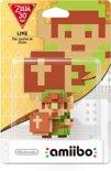 Nintendo amiibo 8 bit Link Edition Figuur - WiiU + New 3DS + Switch