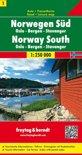 FB Noorwegen blad 1,  Zuid, Oslo, Bergen, Stavanger