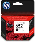 HP 652 - Inkcartridge / Zwart / Blister (F6V25AE)