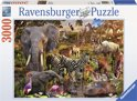 Ravensburger Afrikaanse dierenwereld - Puzzel van 3000 stukjes