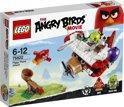 LEGO Angry Birds Piggy Vliegtuigaanval - 75822