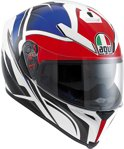 AGV K-5 Roadracer Integraalhelm White/Red/Blue-L