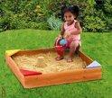 Junior houten zandbak met zitjes