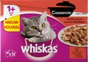Whiskas Casserole - Adult - Classic - Selection in Gelei - 4 x (12 x 85) gr