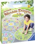 Outdoor Mandala-Designer Flowers & Butterflies - Stoepkrijt