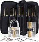 uitgebreide lockpick set 2.0 - lockpicking - lock pick gereedschap tools - lockpicken - voor beginners en professionals - 2020 versie