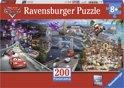 Ravensburger Disney Cars Panorama puzzel van 200 stukjes