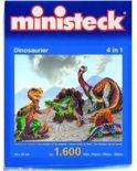 Ministeck Dinosaurus 4 in 1