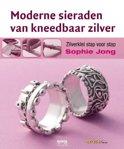 Moderne sieraden van kneedbaar zilver