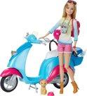 Barbie met Scooter - Barbiepop