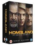 Homeland - Season 1-5 [DVD] [2016] (import)