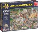 Jan van Haasteren Dierentuin - Puzzel 1000 stukjes