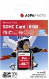 AgfaPhoto SDHC kaart 8GB High Speed Class 10 UHS I