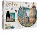 Wrebbit 3D Puzzel - Harry Potter Hogwarts Great Hall - 850 stukjes