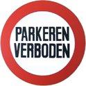 Bord parkeren verboden diameter 236 mm